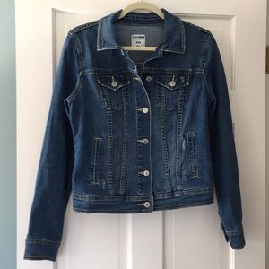 Old Navy classic denim jacket